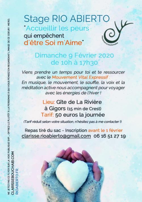 CREST ( Drôme) - ATELIER 9 FÉVRIER 2020