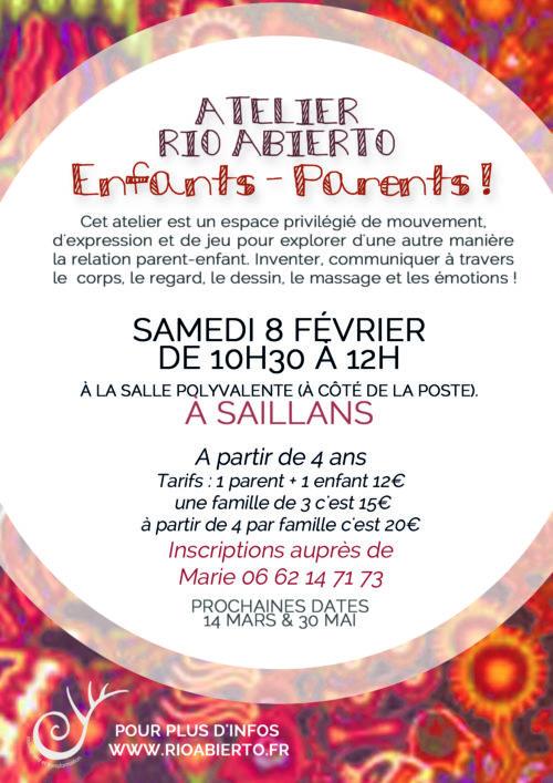 SAILLANS (Drôme) - ATELIER 8 FÉVRIER 2020